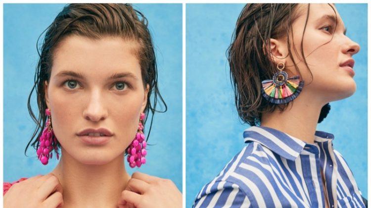 J. Crew spring 2020 statement earrings