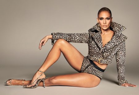 Jennifer Lopez poses in JLo Jennifer Lopez spring-summer 2020 campaign