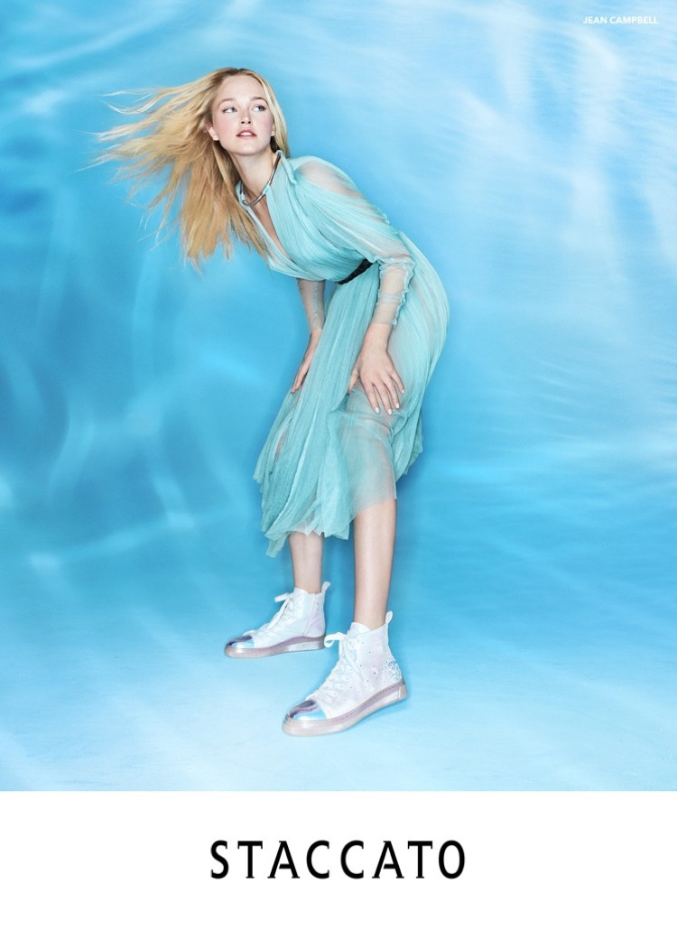 Jean Campbell fronts Staccato spring-summer 2020 campaign