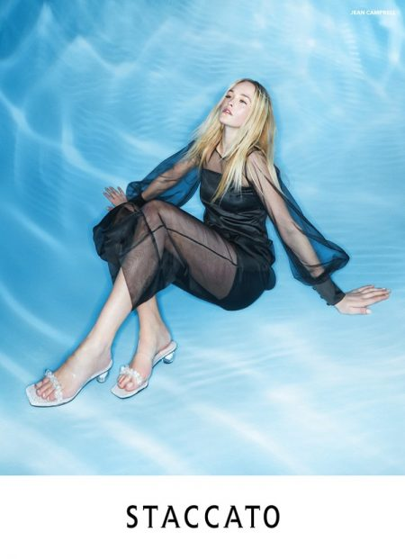 Jean Campbell Is Under the Sea in Staccato Spring 2020 Campaign