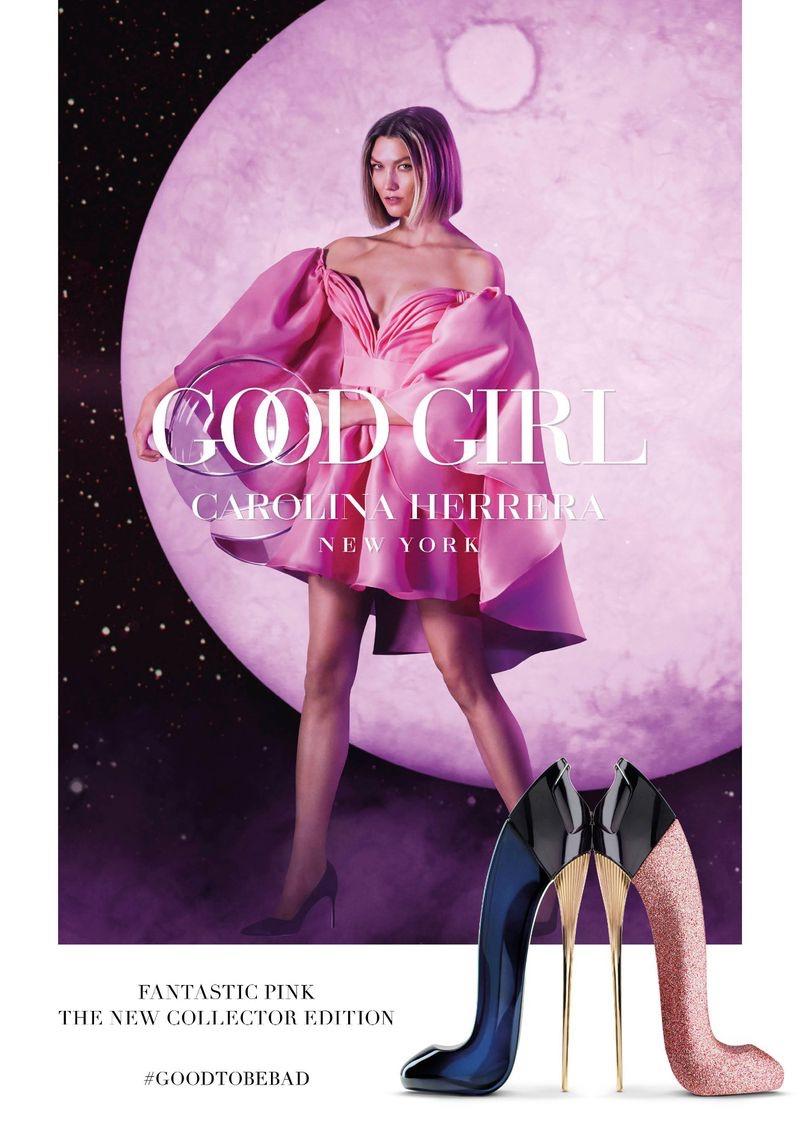 Karlie Kloss stars in Carolina Herrera Good Girl Fantastic Pink fragrance campaign