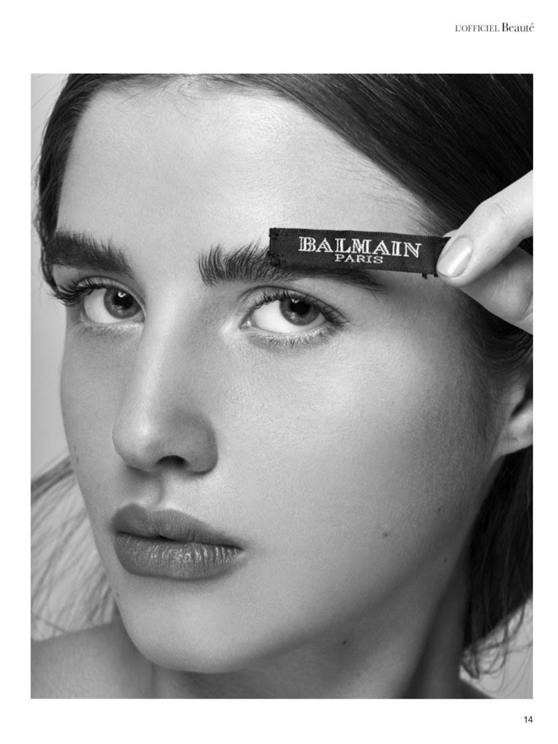 Kate Erler Has Label Mania in L'Officiel Arabia