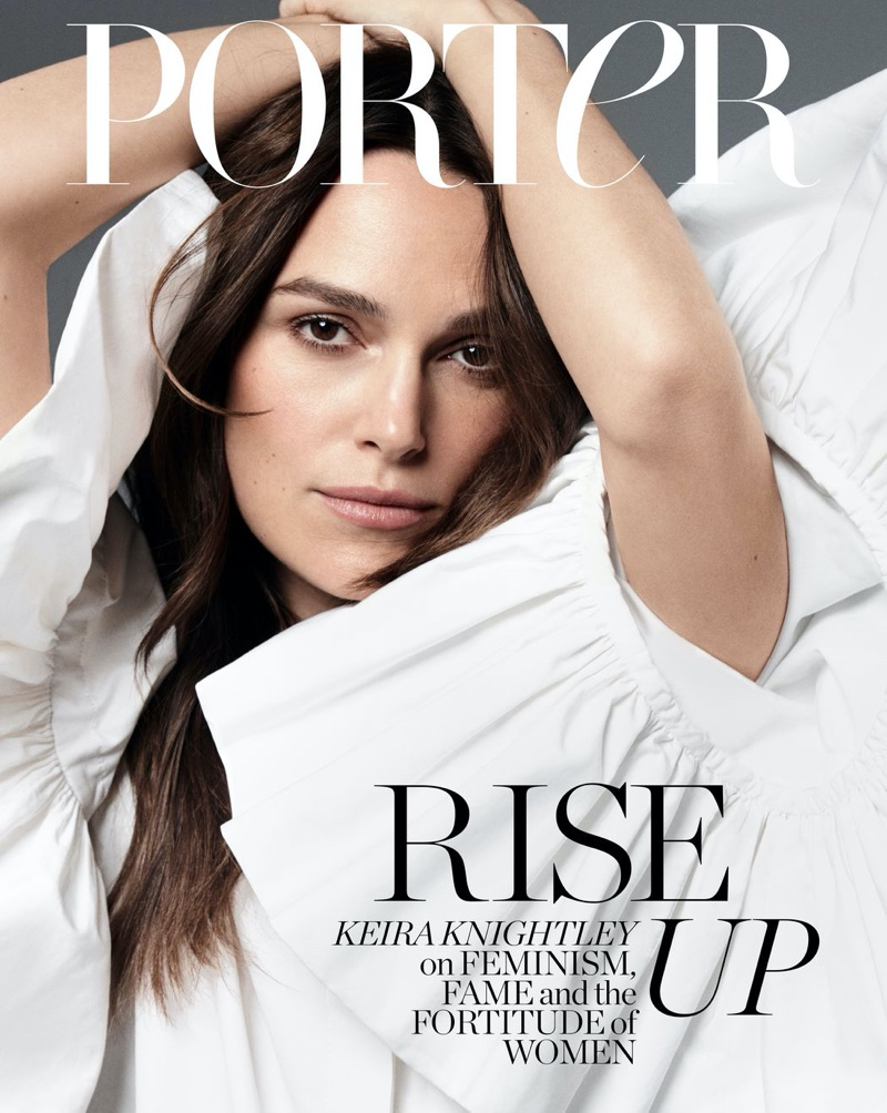 Keira Knightley on PORTER Edit March 9th, 2020 Cover
