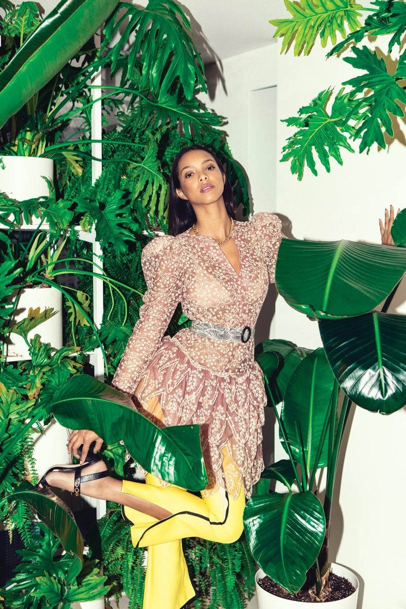 Lais Ribeiro Models Statement Styles for Ocean Drive