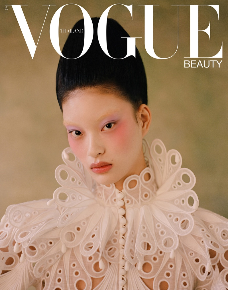 Leah Chen Poses in Regal Fashions for Vogue Thailand
