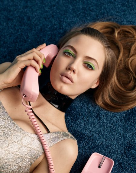 Lindsey Wixson Poses in Retro Fashions for ELLE Russia