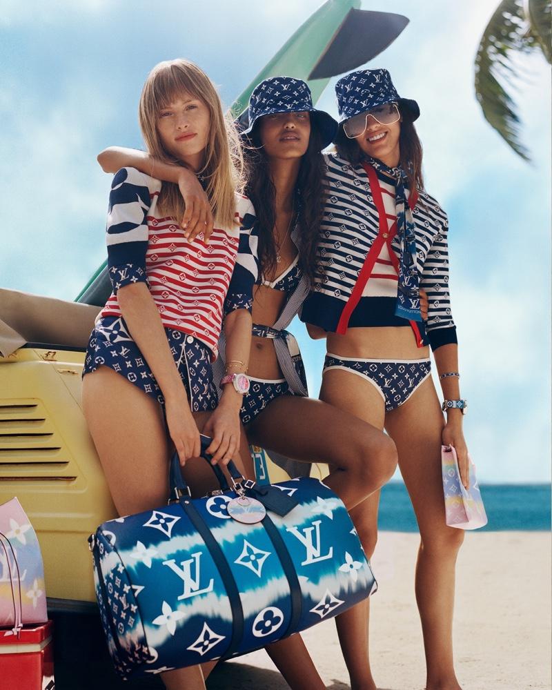 Louis Vuitton unveils LV Escale summer 2020 campaign