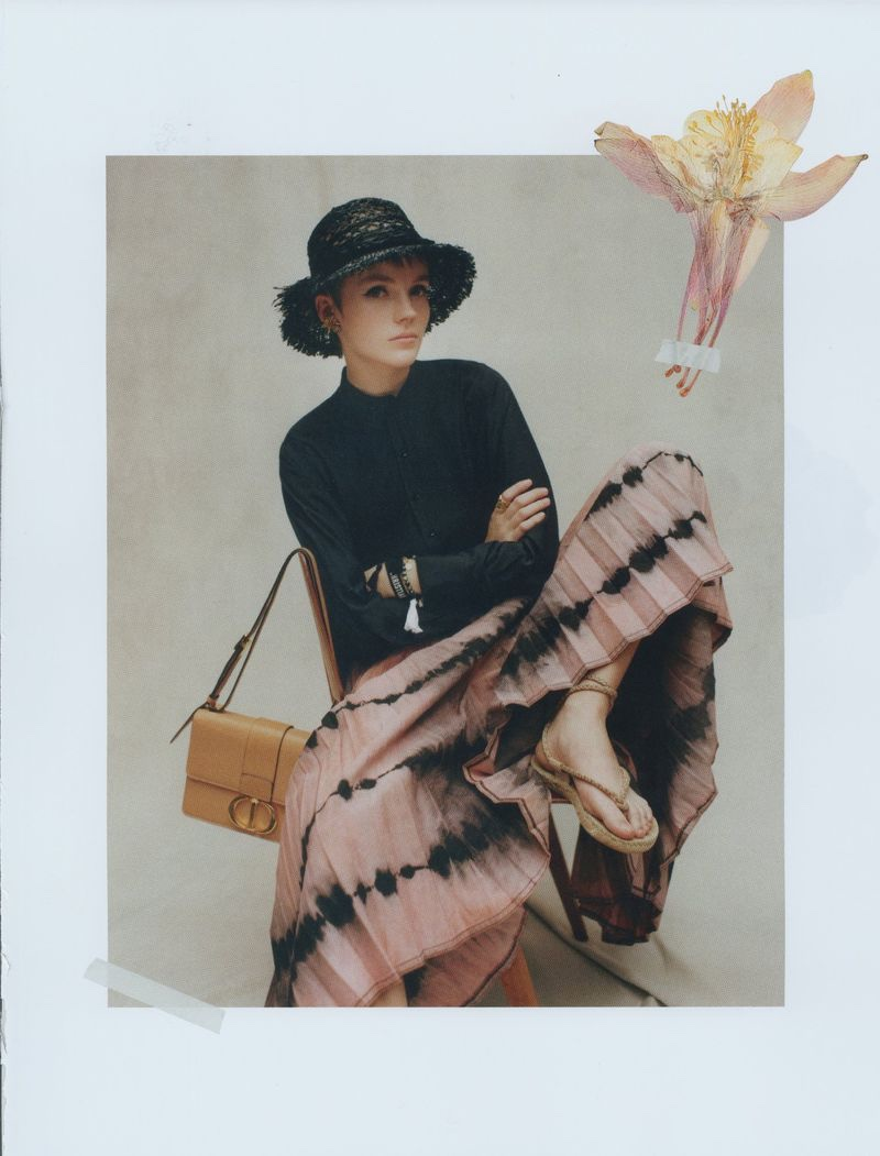 Lucan Gillespie is In Full Bloom for Spring in Dior Magazine