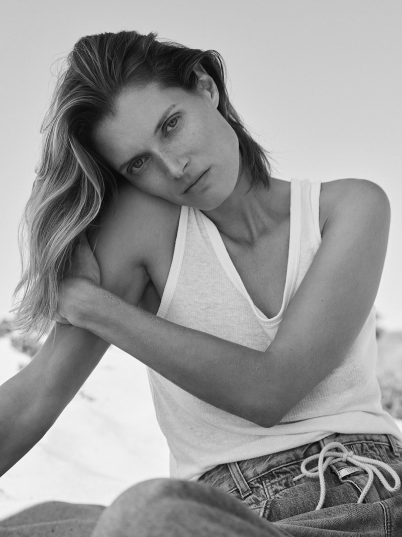 Malgosia Bela fronts Closed The New Blues summer 2020 lookbook