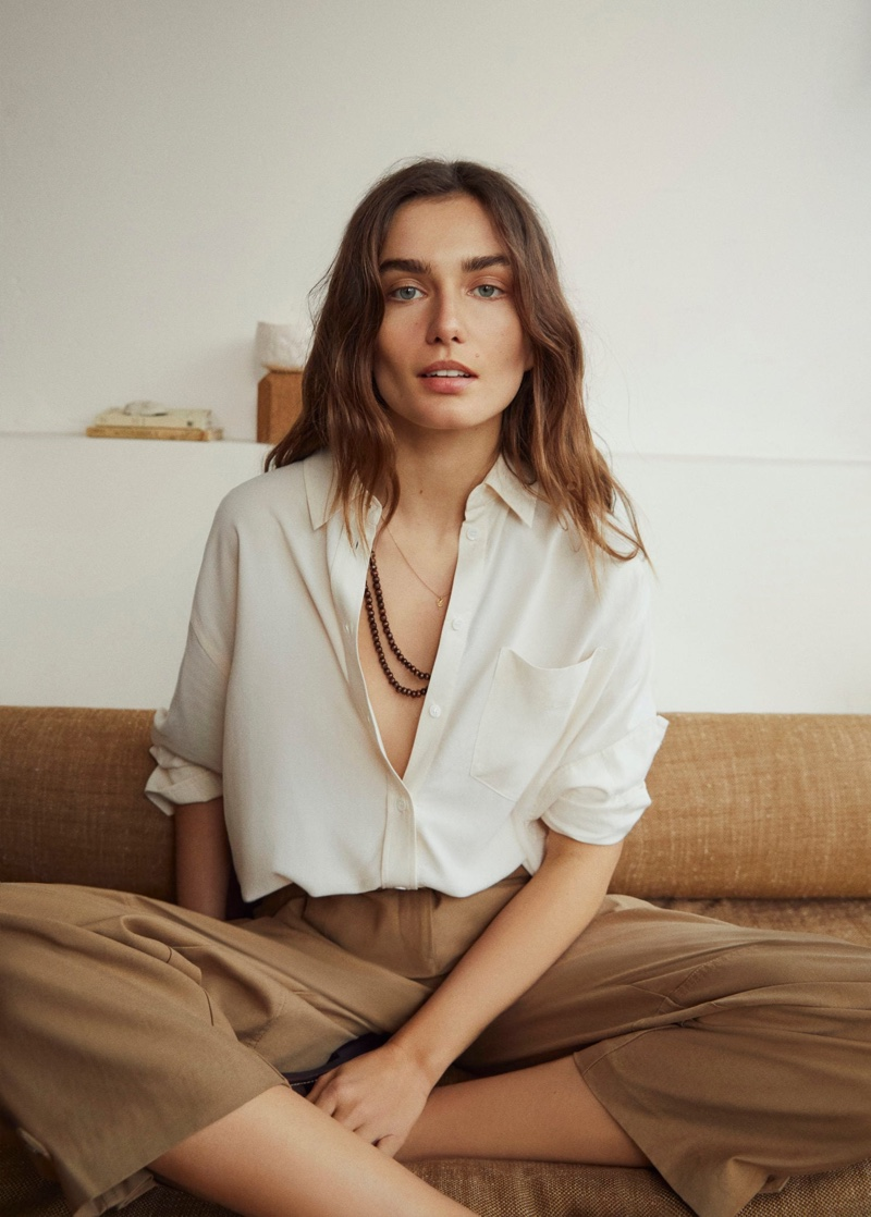 Mango highlights relaxed styles for spring 2020