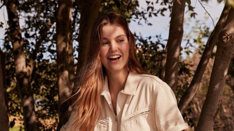 Luna Bijl stars in Mango Romantic Vibe spring-summer 2020 lookbook