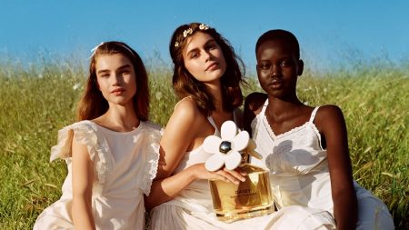 Megan Roche, Kaia Gerber and Adut Akech star in Marc Jacobs Daisy Love fragrance campaign