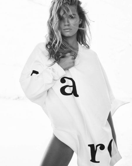 Model Anna Ewers fronts Marc O'Polo spring-summer 2020 campaign
