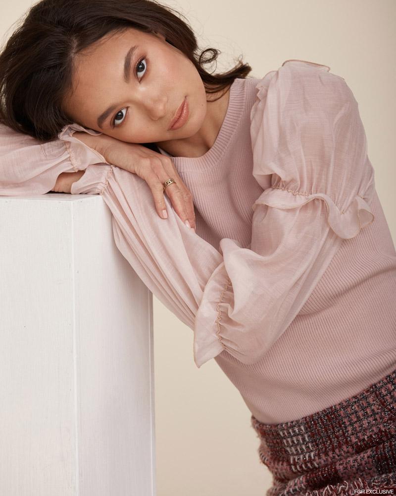 Top & Skirt Zara. Photo: Christopher Shintani