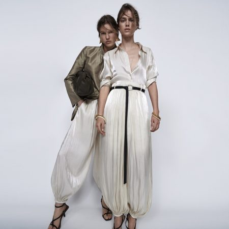 Romy, Julia & Roos Model Massimo Dutti Limited Edition Collection