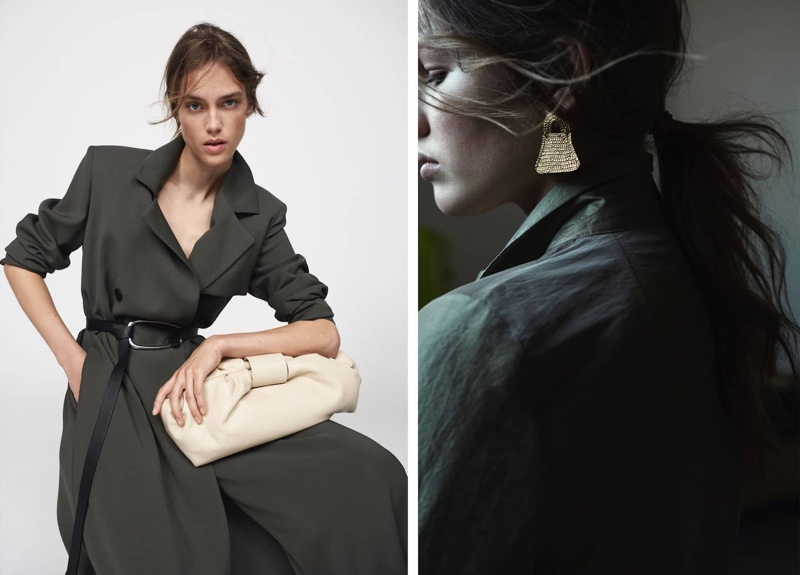An image from Massimo Dutti's Limited Edition spring-simmer 2020 collection