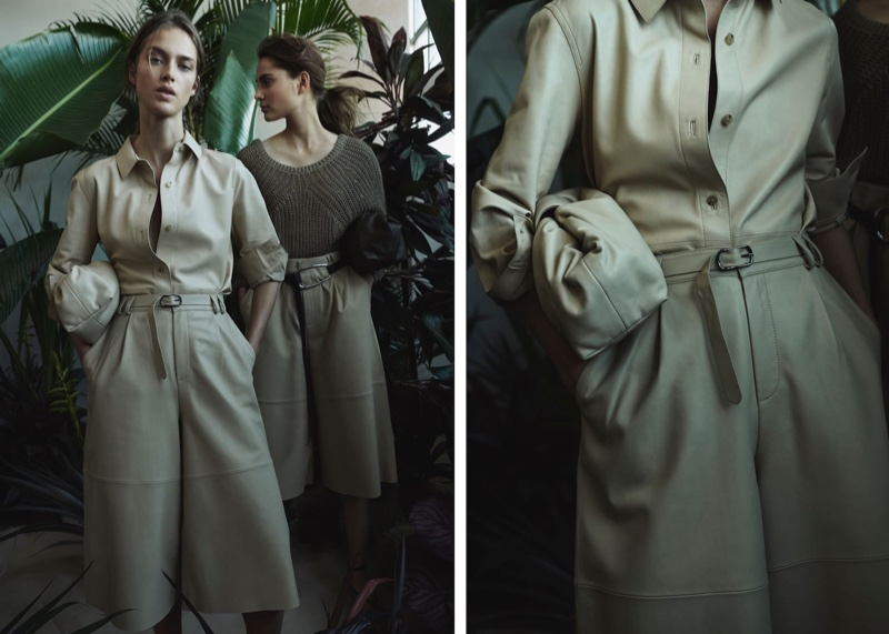 Massimo Dutti delivers a neutral color palette for Limited Edition spring-summer 2020 lookbook