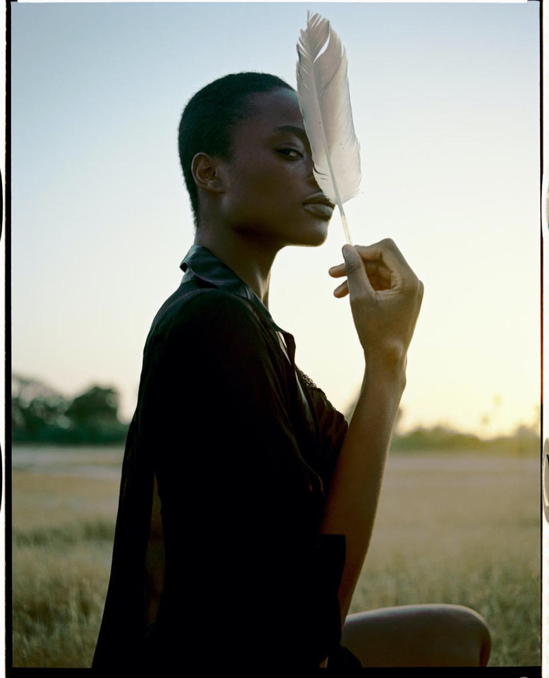 Mayowa Nicholas Graces the Pages of Vogue Spain