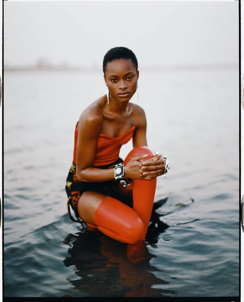Mayowa Nicholas Graces the Pages of Vogue Spain
