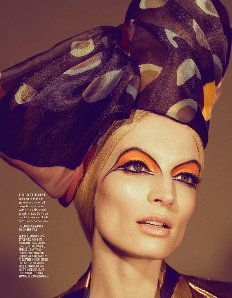 Melissa Tammerijn Turns Up the Shine Factor for Vogue Arabia