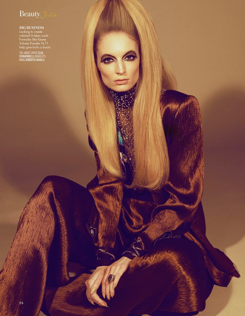 Melissa Tammerijn Turns Up the Shine Factor for Vogue Arabia