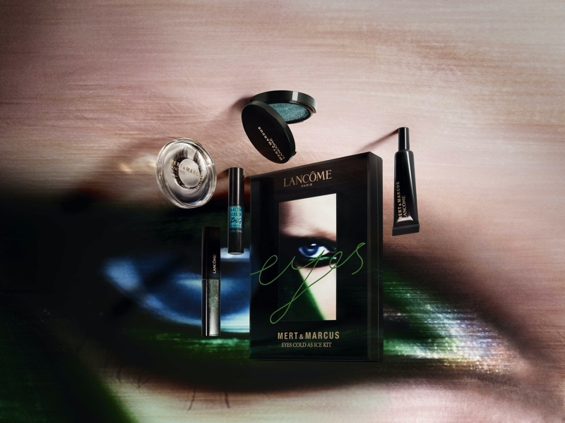 Mert & Marcus x Lancome Eyes Cold as Ice kit