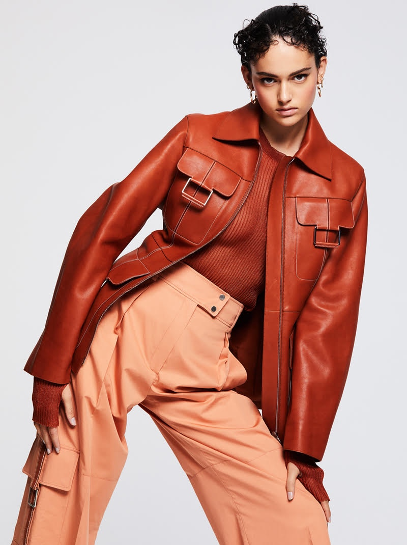 Nikki Vonsee Embraces Tailored Looks for InStyle Germany
