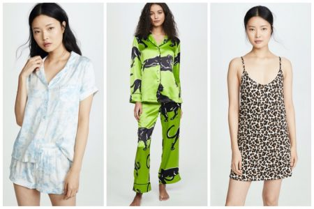 Chic pajamas from Shopbop