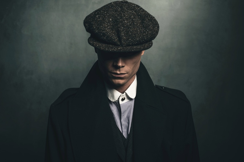 Peaky Blinders Inspired Fashion Shot 1920's
