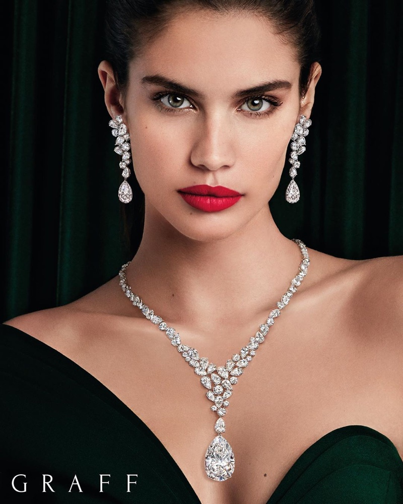 Sara Sampaio stars in Graff Diamonds 2020 campaign