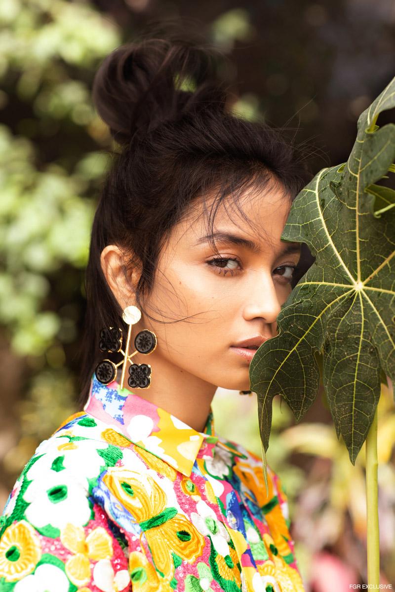 Shirt Dress Aniket Satam and Earring Color Chemistry. Photo: Kay Sukumar