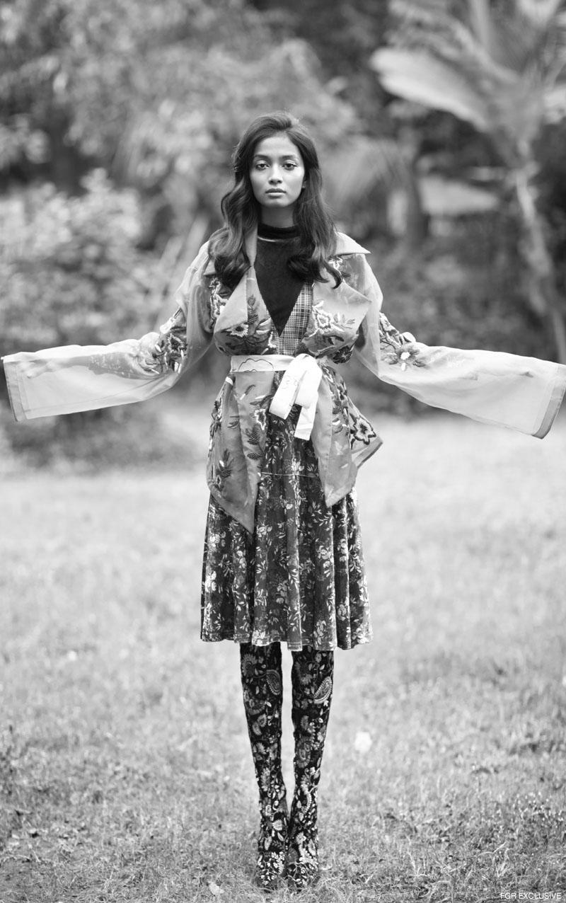 Dress Madison, Jacket Nikita Mhaisalkar and Shoes Hogwash. Photo: Kay Sukumar