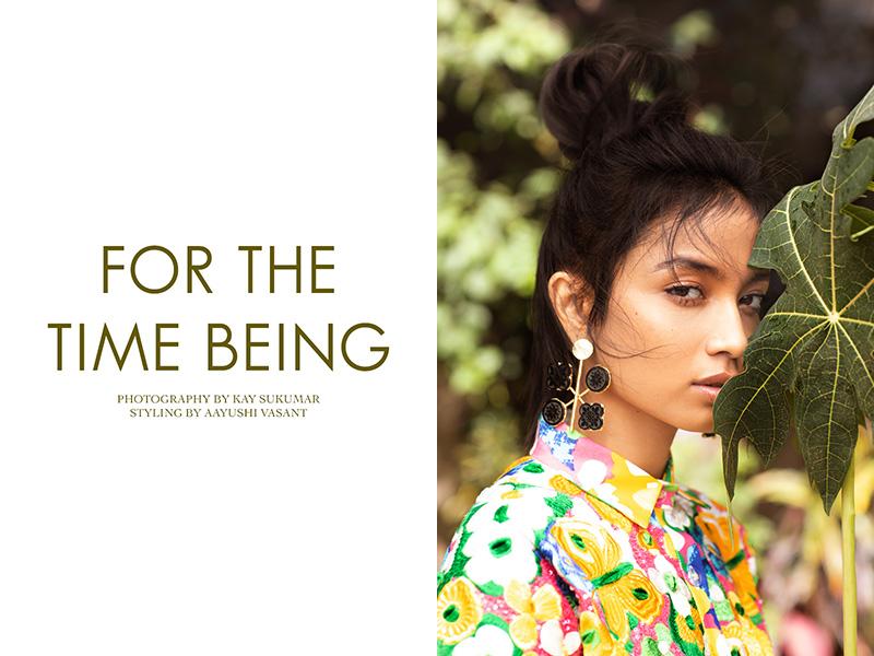 Sumaya Hazarika photographed by Kay Sukumar