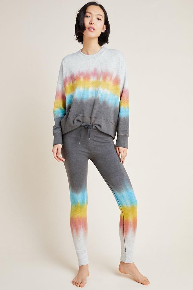Sundry Tie-Dye Oversized Sweatshirt $188 & Slim Sweatpants $188