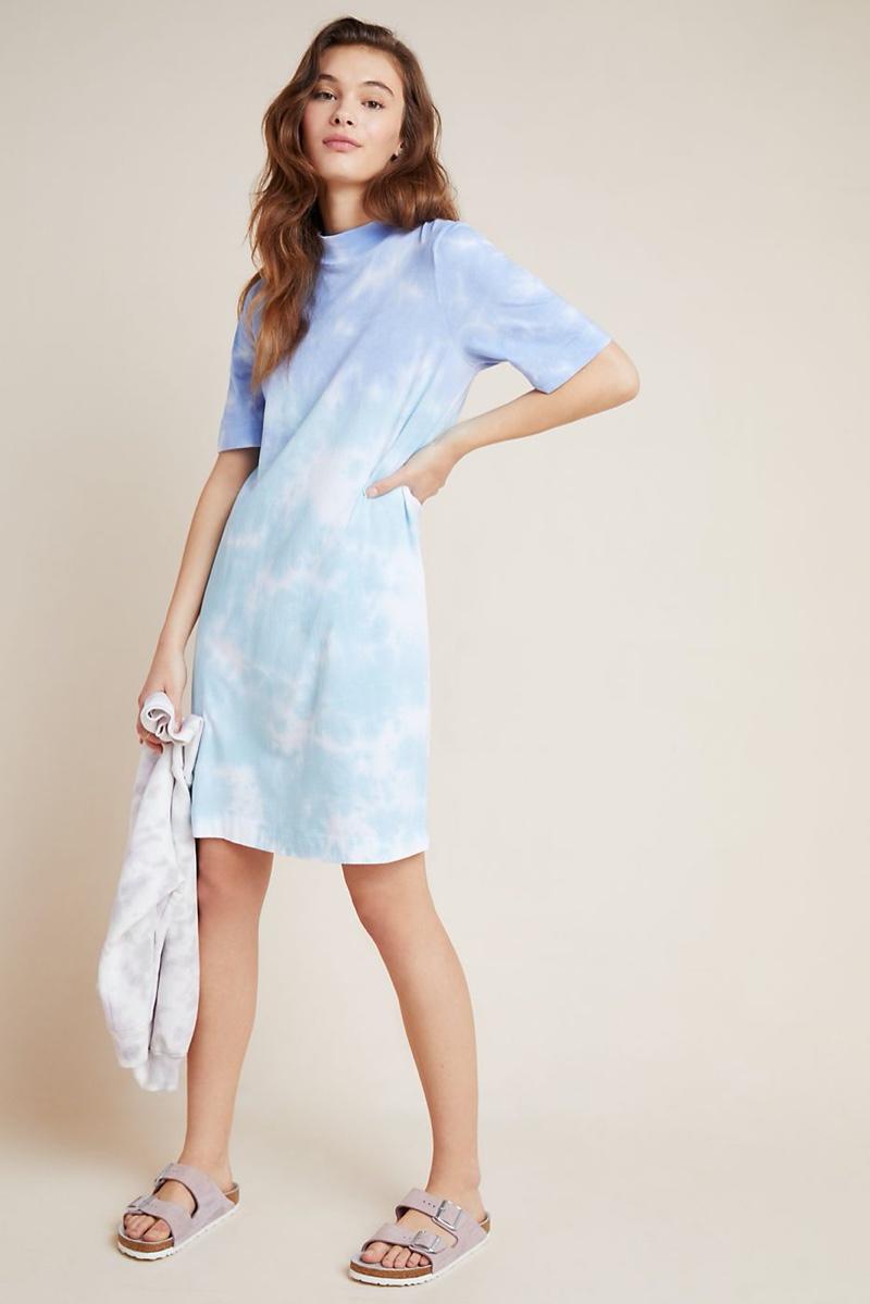 T. La Heidi Mock Neck Tee Dress $68