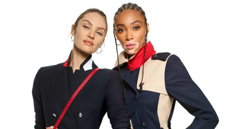 Candice Swanepoel and Winnie Harlow star in Tommy Hilfiger Icons spring-summer 2020 campaign