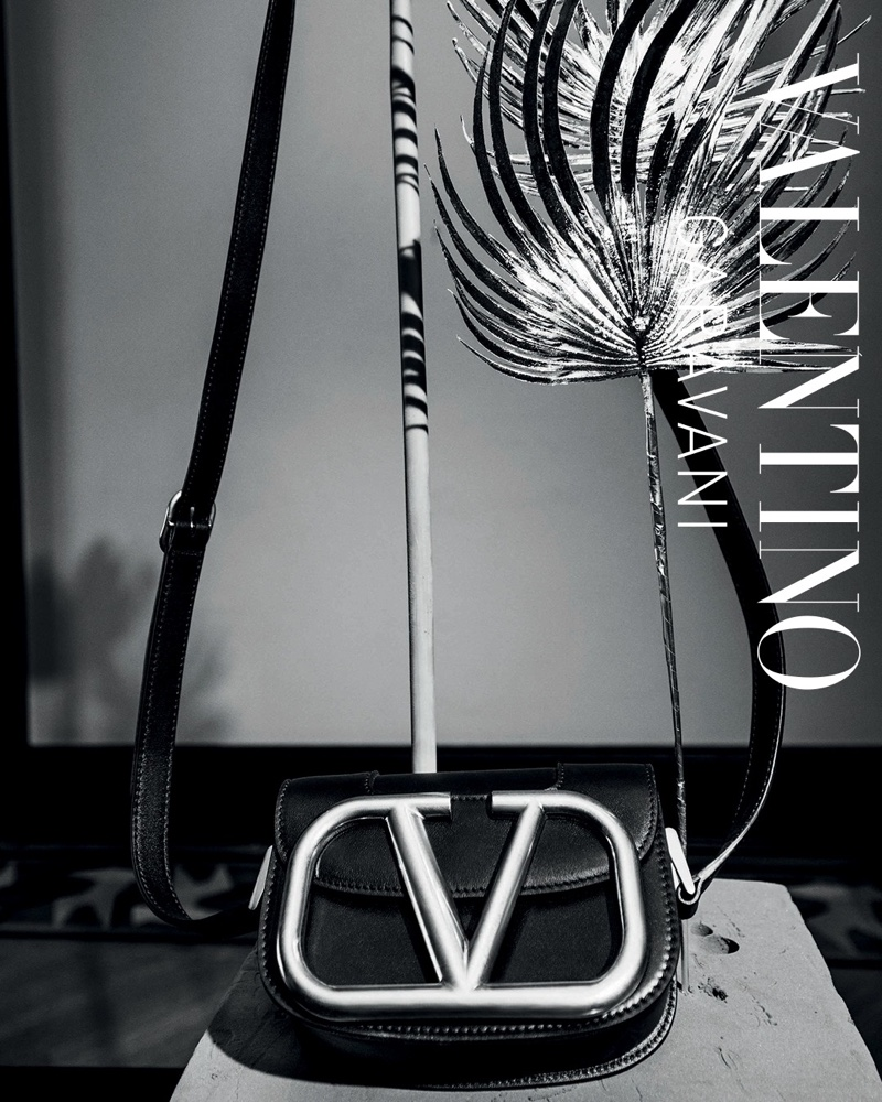 Valentino Supervee bag featured in Le Noir spring-summer 2020 campaign