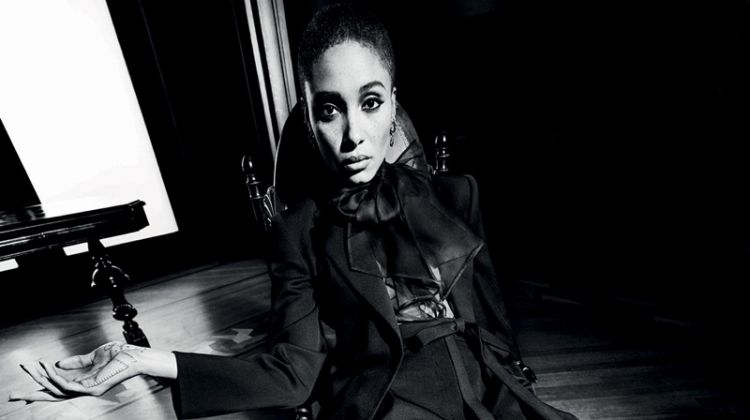 Inez & Vinoodh photographs Valentino Le Noir spring-summer 2020 campaign