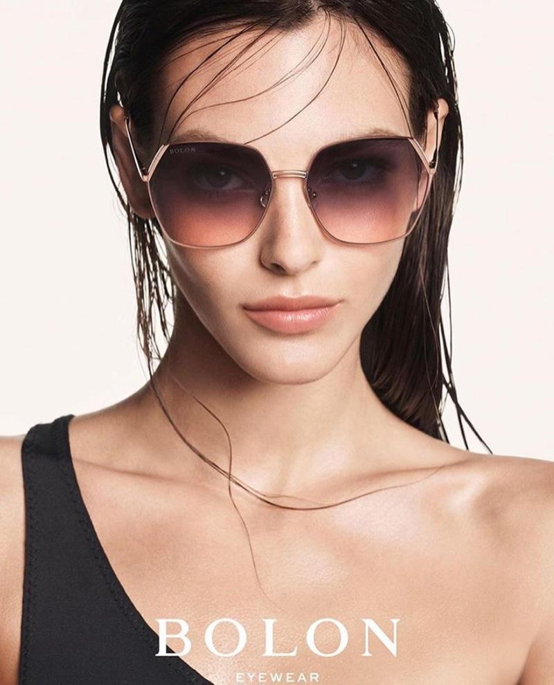 Vittoria Ceretti Looks Luxe in Bolon Eyewear Spring 2020 Campaign