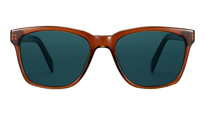 Warby Parker Barkley Sunglasses in Cacao Crystal $95