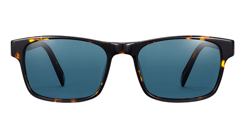 Warby Parker Perkins Sunglasses in Burnt Honeycomb Tortoise $95