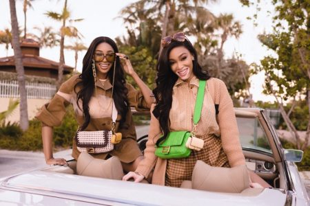 Winnie Harlow and Shannon Hamilton star in Fendi #BaguetteFriendsForever campaign