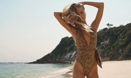 Olivia Vinten stars in Zimmermann Swim summer 2020 campaign