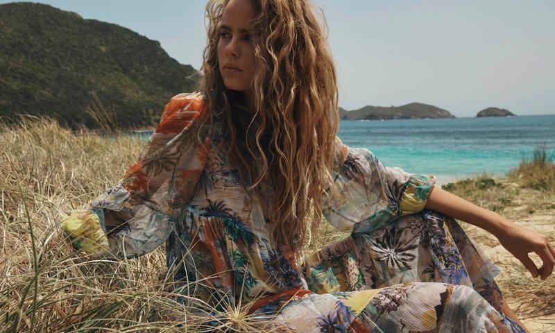 Model Olivia Vinten fronts Zimmermann Swim summer 2020 campaign
