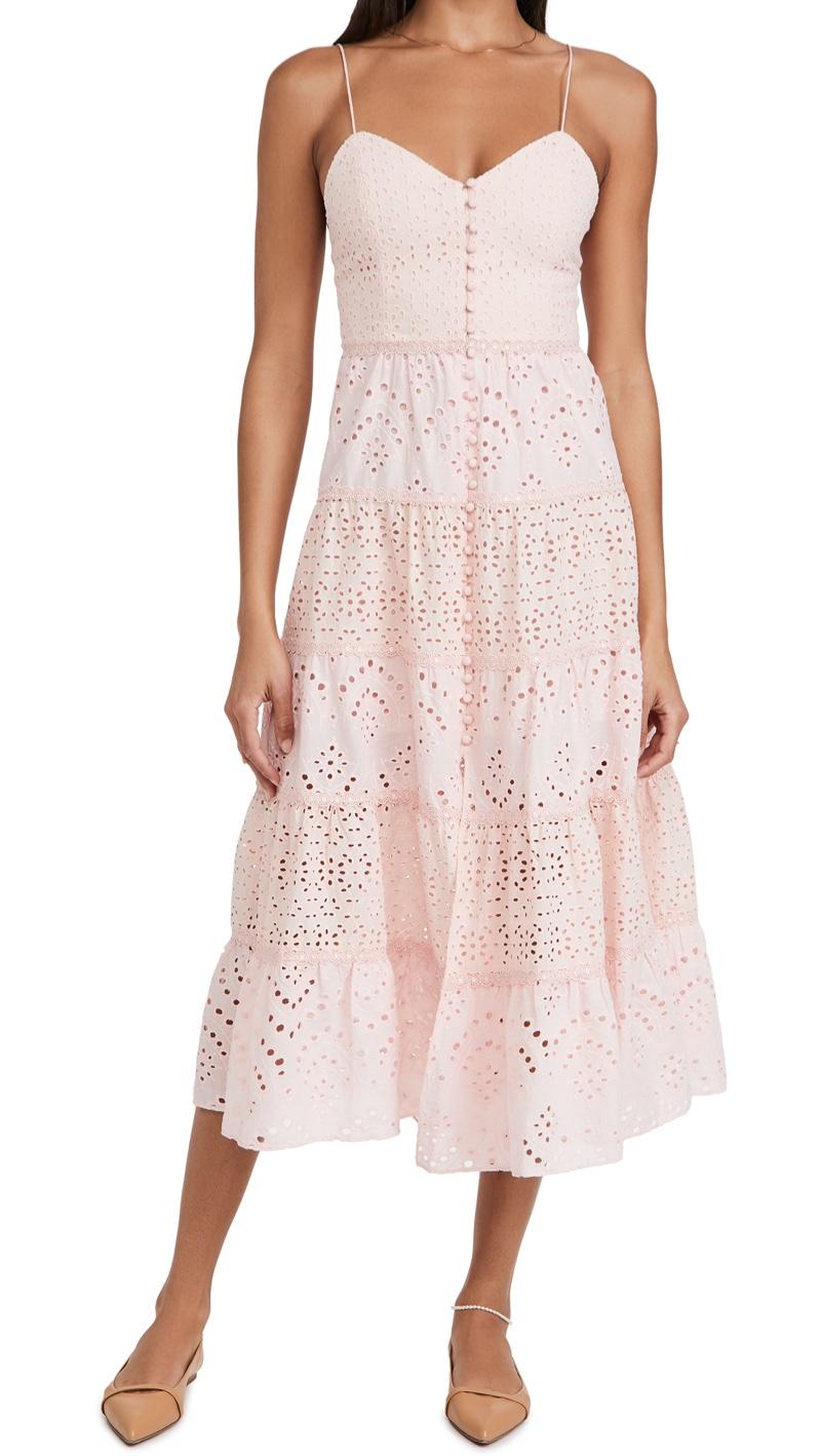 alice + olivia Shanti Tiered Dress $440