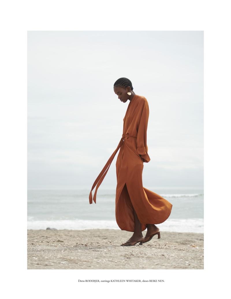 Aketch Joy Winnie Poses in Neutral Styles for Vestal Magazine