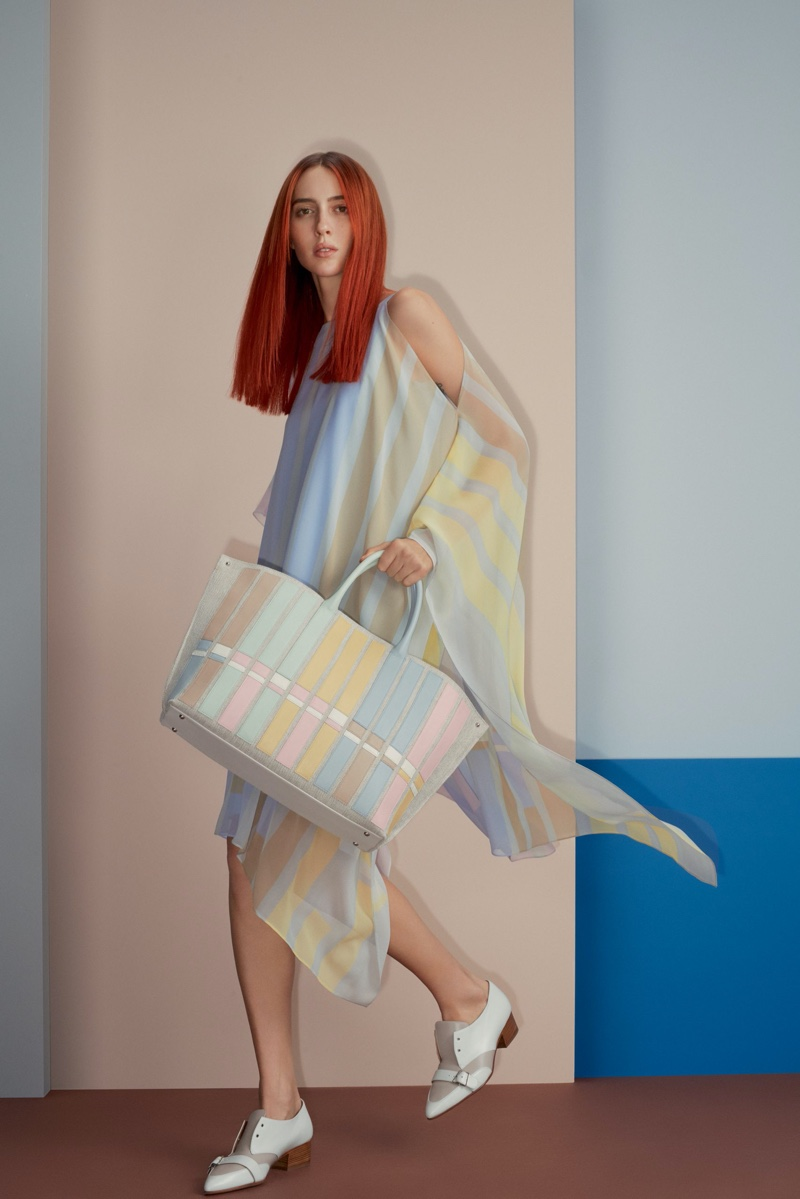 An image from Akris' spring 2020 advertising campaign.