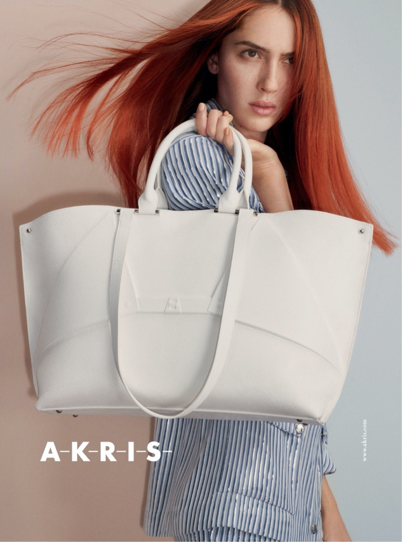Akris unveils spring-summer 2020 campaign.
