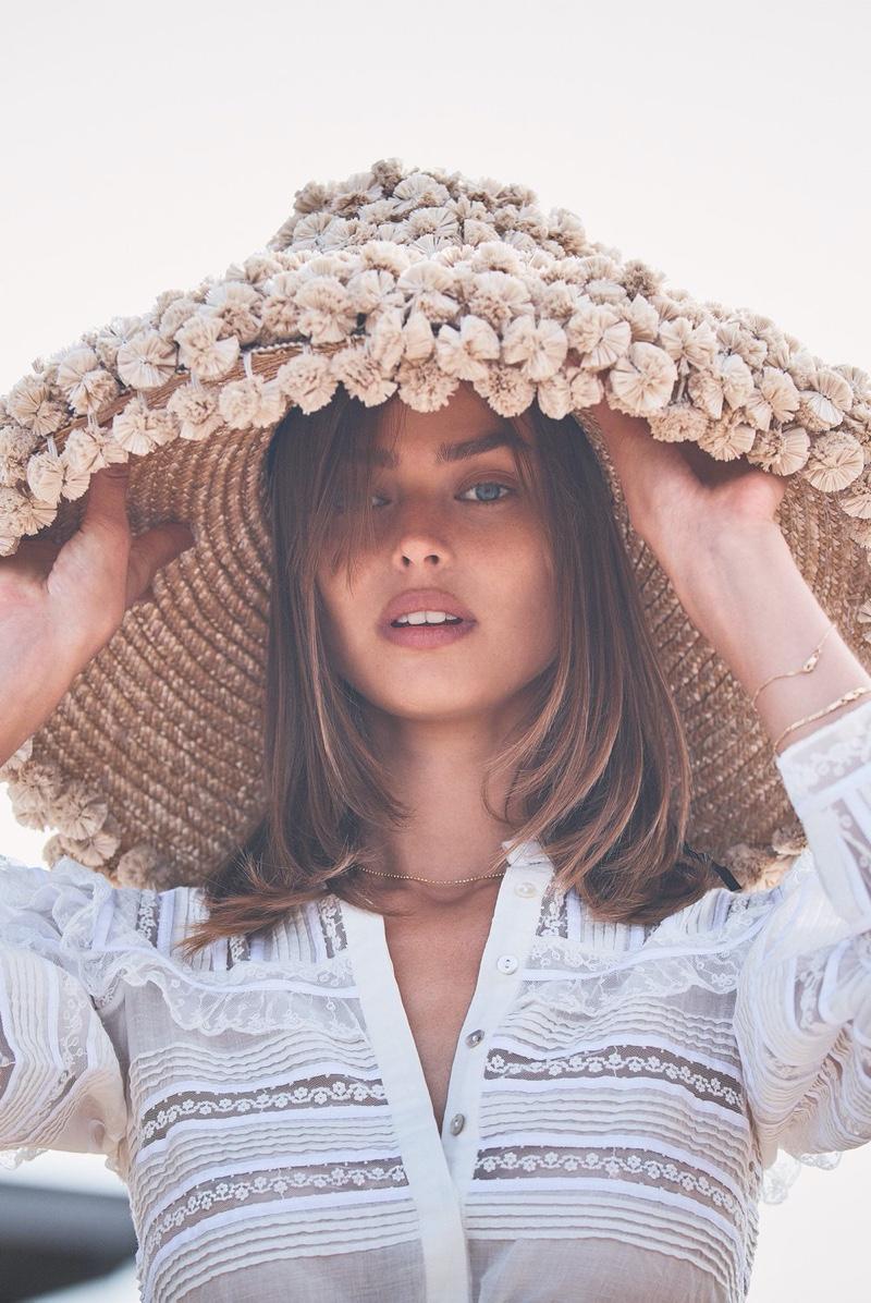 Birgit Kos stars in Alexis spring-summer 2020 campaign