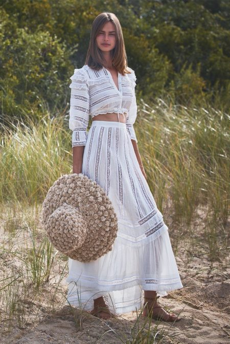 Birgit Kos Chases the Sun in Alexis Spring 2020 Campaign